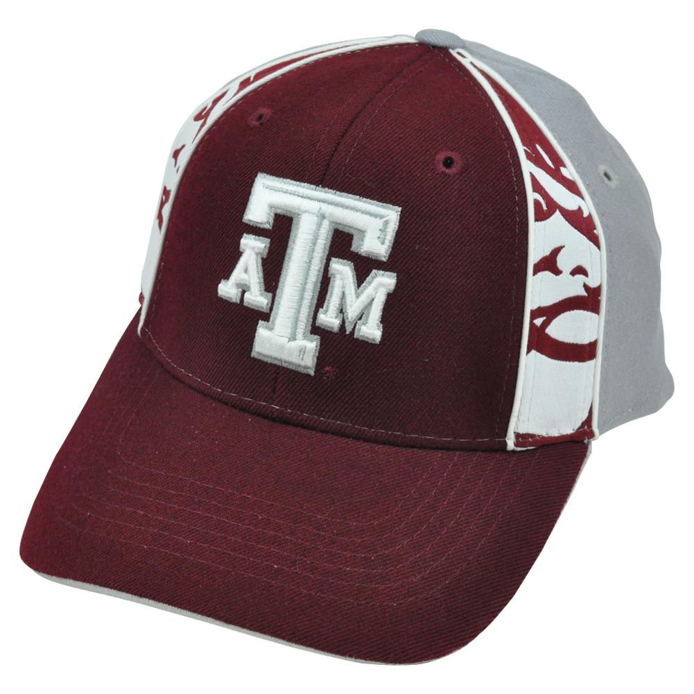 3798c15d552 NCAA Texas A M Aggies Constructed Velcro Hat Cap Adjustable Top of ...