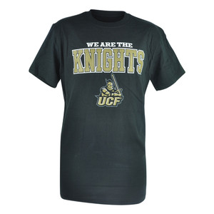 NCAA Central Florida Knights UFC Silver Oak Black Mens Tshirt Shirt Tee