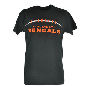 NFL Cincinnati Bengals Cole Applique Black Football Tshirt Tee Mens Shirt