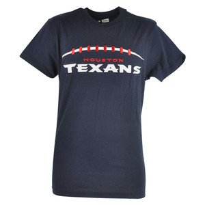 NFL Houston Texans Cole Applique Navy Blue Football Tshirt Tee Mens Shirt