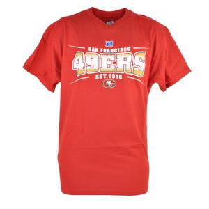 NFL San Francisco 49ers Sully Mens EST 1946 Football Tshirt Red Tee Shirt