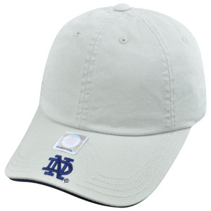 NCAA American Needle Notre Dame Fighting Irish Velcro Flambam Blank Hat Cap