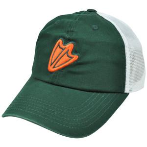 NCAA Oregon Ducks Fleet Fox Garment Wash Slouched Mesh Hat Cap Adjustable Velcro