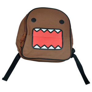 Domo Kun Mini Backpack Small Book School Cartoon Child Japanese Character Face