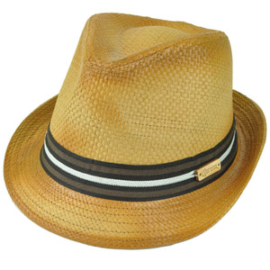 Corona Beer Lager Beach Paper Straw Diamond Top Fedora Large XLarge Trilby Hat