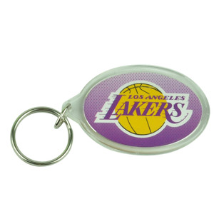 NBA Los Angeles Lakers Acrylic Sport Fan House Work Key Chain Circle Win Craft