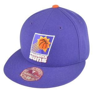 NBA Mitchell Ness Phoenix Suns Fitted TK41 Alternate 2 Hat Cap
