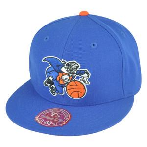 NBA Mitchell Ness New York Knicks Fitted TK41 Alternate 2 Hat Cap
