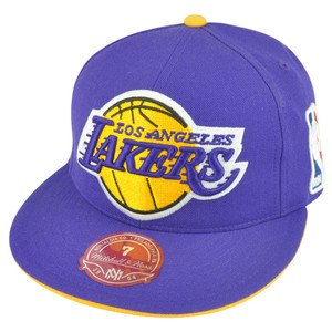 6fdfe7ddb3d NBA Mitchell Ness Los Angeles Lakers TS51 Team Preferred Fitted Hat Cap