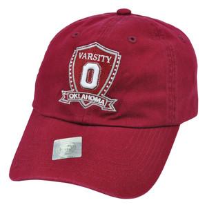 NCAA Top of The World Oklahoma Sooners Garment Wash Varsity Adjustable Hat Cap