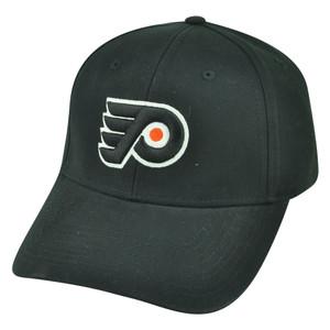 NHL Philadelphia Flyers Velcro Adjustable Black Hockey Hat Cap Fan Favorite