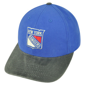 NHL American Needle New York Rangers Gilyard Sun Buckle Hat Cap Blue Adjustable