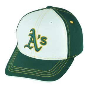 MLB Fan Favorite Oakland Athletics Sandlot Youth Adjustable Baseball Hat Cap