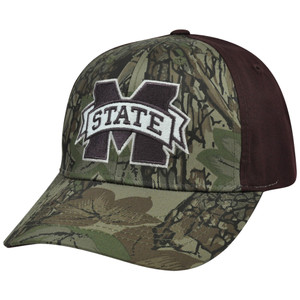 NCAA Mississippi State Bulldogs Freshman Camouflage Adjustable Curved Bill Hat
