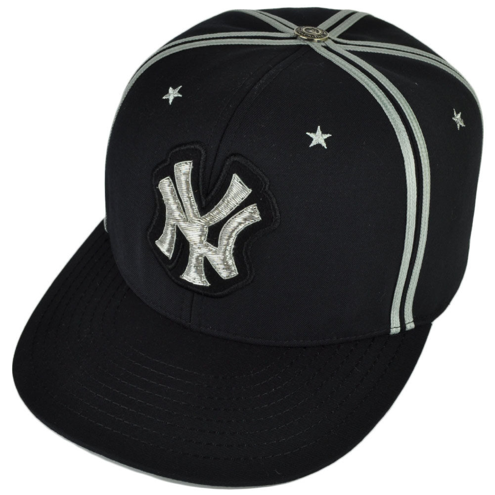 New York Yankees Red X Jacket 24K White Rose Gold Button Fitted 7 3 8 Hat  Cap. Price   129.99. Image 1 4fcd0d143db9
