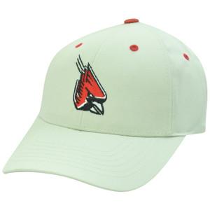 Louisville Cardinals Cards NCAA Twill Plain Logo Beige Adjustable Velcro Hat Cap