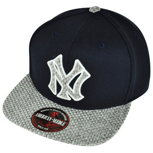 a8aa936a710 MLB American Needle New York Yankees Hatch Clip Buckle Woven Hat Cap Navy  Blue