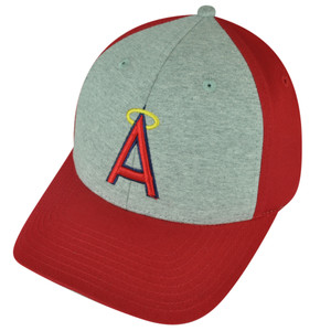 MLB American Needle Los Angeles Angels Snapback 2Tone Red Grey Hat Cap Sports