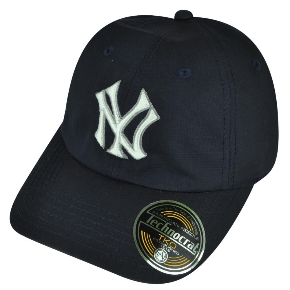 MLB American Needle New York Yankees Technocrat Velcro Hat Cap ... dfdf0ae4b44