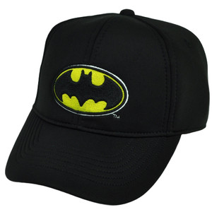 Batman Foam Panel Snapback DC Comics Super Hero Black Hat Cap Warner Bros Cartoon