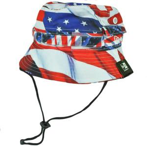 New Era Americana Sun Bucket USA America Patriotic Flag Fitted Small Medium Hat