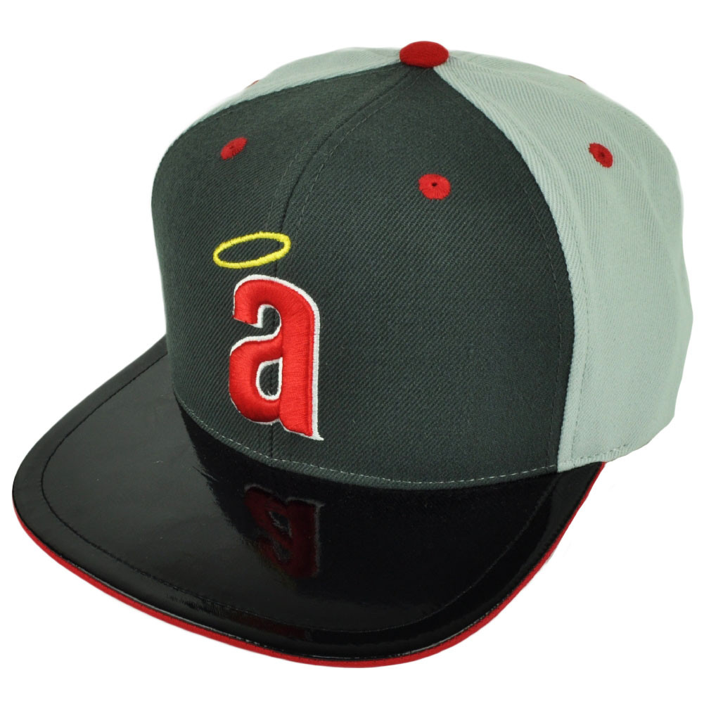 MLB American Needle Los Angeles Angels Snapback Faux Leather Flat Bill Hat  Cap. Your Price   21.95 (You save  3.04). Image 1 b001bbe4269a