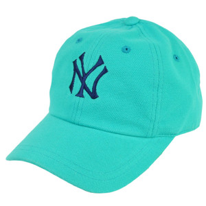 MLB American Needle New York Yankees Blue Velcro Hat Cap Sport Relaxed Slouch