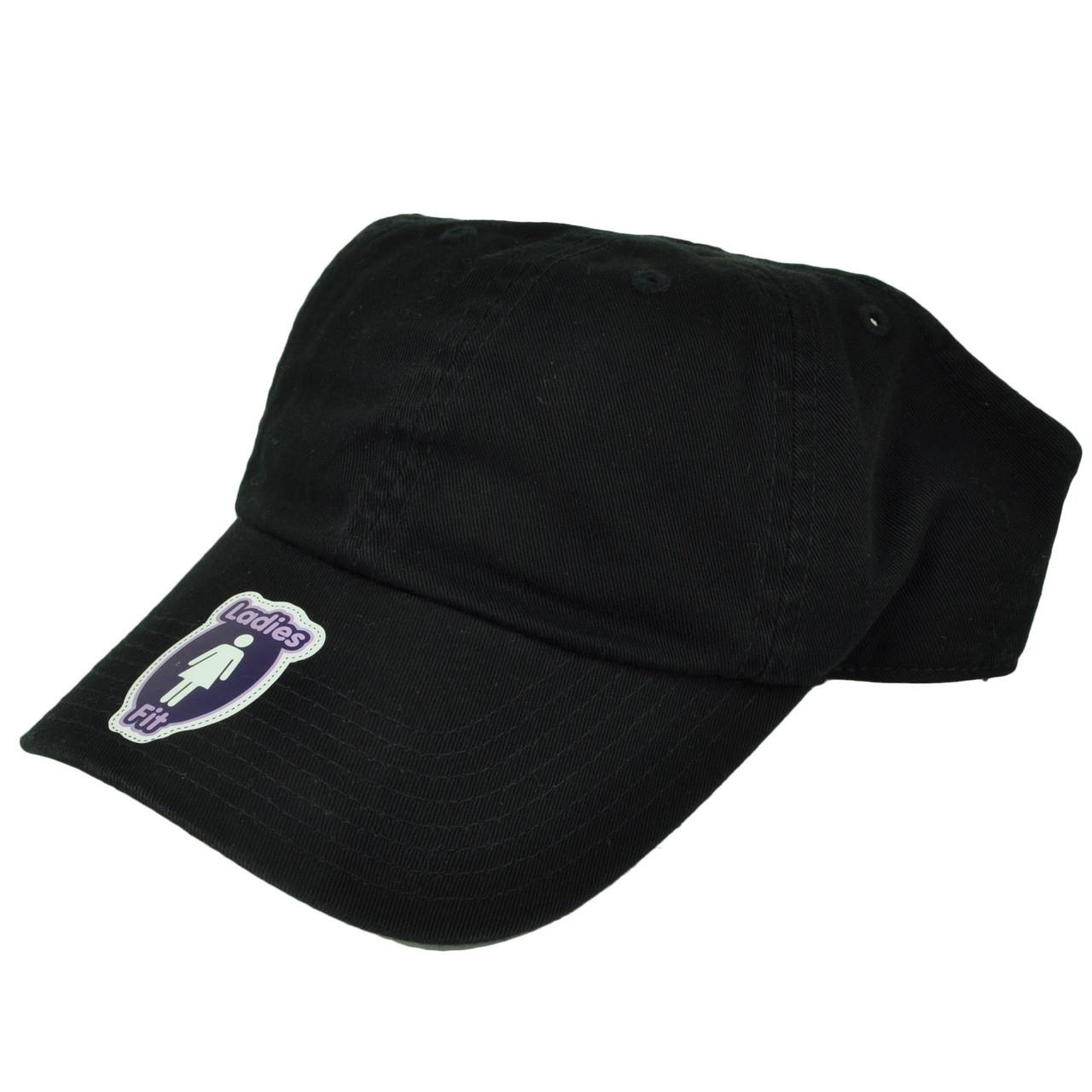 American Needle Black Open Back Hat Cap Visor Womens Ladies Velcro ... 1a3f8378ff6