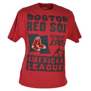 MLB Boston Red Sox Est 1901 Red Tshirt Tee Medium Mens Adult Tshirt Tee Sports