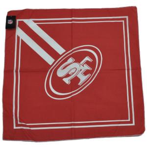 NFL San Francisco 49ers Bandana Red Fan Game Day Spirit Head Gear Fashion Sports