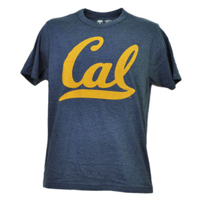 NCAA California Golden Bears Cal Tshirt Tee Mens Navy Short Sleeve Crew Neck