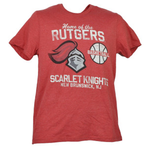 NCAA Rutgers Scarlet Knights Small Tshirt Tee Red Mens Short Sleeve Crew Neck