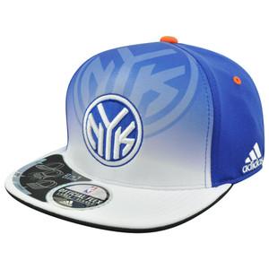 NBA New York Knicks NY 2 In 1 Visor Flex Fit Draft TY30Z  S/M Hat Cap
