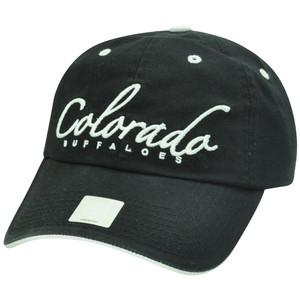 NCAA Colorado Buffaloes Women Ladies Garment Wash Slouch Fit Sun Buckle Hat Cap