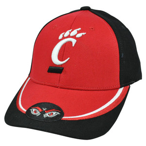 NCAA Nickel Unbrush Curved Bill Velcro Adjustable Cincinnati Bearcats Hat Cap