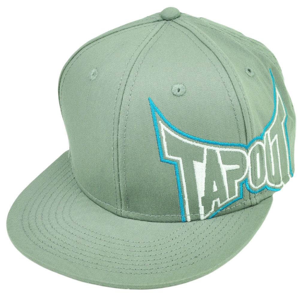 Tapout MMA UFC Mixed Martial Arts Snapback Gray Flat Bill Hat Cap Cage  Fighting. Your Price   19.95 (You save  5.00). Image 1 2af2f4008020