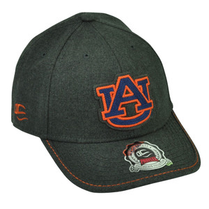 NCAA Auburn Tigers Pro Flex Fit One Size Stretch Hat Cap Moisture Control Grey