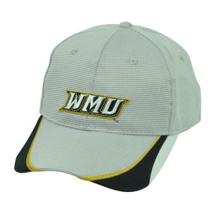 NCAA Western Michigan Broncos  Sport Adjustable Hat Cap WMU Grey Black