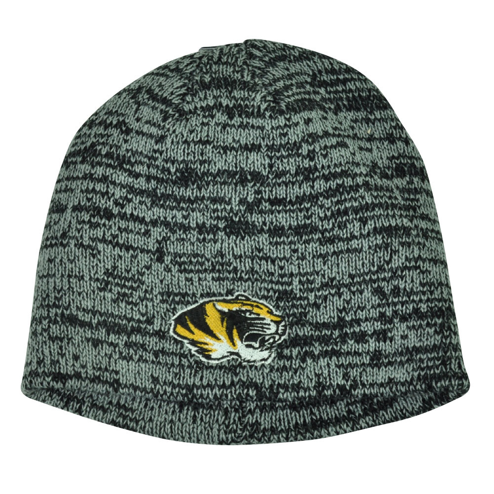 334c6b154f81c NCAA Missouri Tigers Knit Beanie Grey Cuffless Hat Winter Sport Toque  Mizzou. Your Price   14.95 (You save  10.04). Image 1