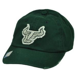 NCAA South Florida Bulls SF Snapback Distressed Hat Cap Captivating Headgear