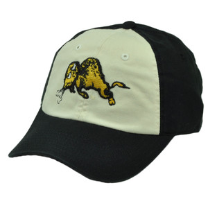 NCAA American Needle Colorado Buffaloes Hat Cap Black White Sun Buckle Relax