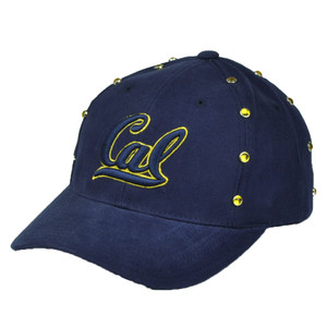 NCAA American Needle California Cal Golden Bears Hat Cap Navy Blue  Gems