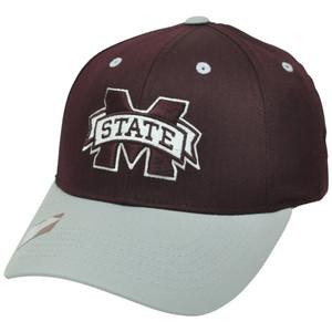 NCAA Mississippi State Bulldogs Twill Cotton Snapback Curved Bill Hat Cap MSU