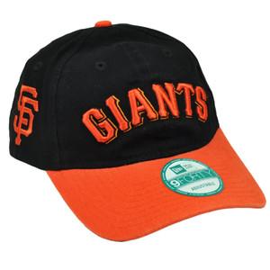 pretty nice 86e92 e7943 ... wholesale mlb new era 9forty 940 team canvas clip buckle san francisco  giants hat cap blk ...