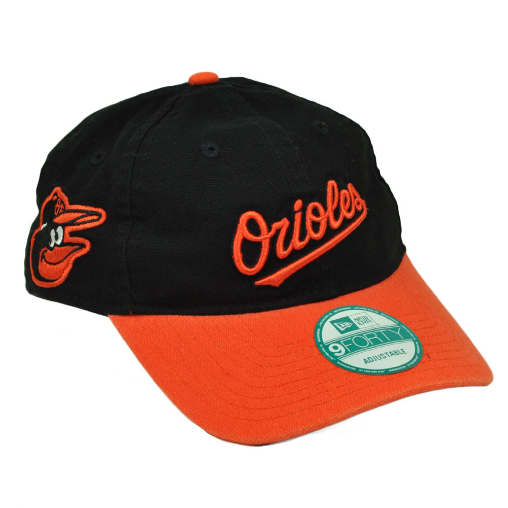 great fit e2bc4 dc041 ... switzerland mlb new era 9forty 940 team canvas clip buckle baltimore  orioles hat 0c8ca bbcae