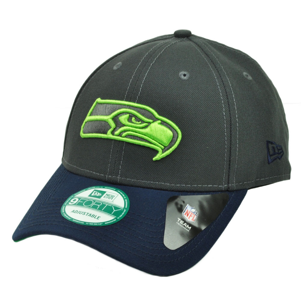 best sneakers 821a7 9ed3b NFL New Era 9Forty 940 Seattle Seahawks 4th Down Snapback Hat Cap Adjustable.  Image 1