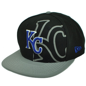 MLB New Era 9Fifty 950 2T Treasure Kansas City Royals Snapback Flat Bill Hat Cap