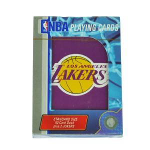 NBA Los Angeles Lakers Playing Cards Deck Standard Size Game Poker LA Purple Fan