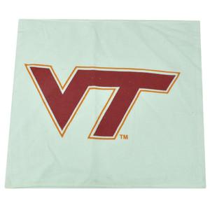 NCAA Virginia Tech Hokies Hand Towel Decoration White 17'x 14' Gym Sport Game