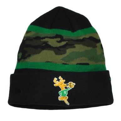 premium selection c9c1b adc9c ... shop nba new era milwaukee bucks fillz camouflage cuffed beanie knit hat  7cf6f bab87